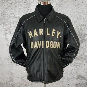 HARLEY DAVIDSON 100YR ANNIV. Leather Jacket 3XL